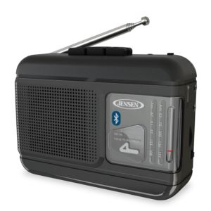 AM/FM Radio Cassette Player/Recorder with Bluetooth