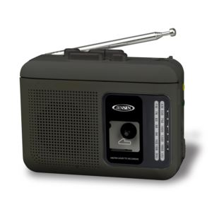 Personal Cassette Player/Recorder with AM/FM Radio