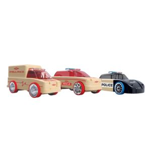 Mini 3-Pack Rescue Vehicles Ages 4+ Years