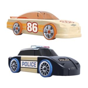 Chaser Racer 2-in-1 Vehicles Ages 4+ Years