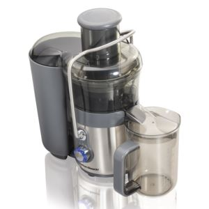 Easy Clean Big Mouth 2-Speed Premium Juice Extractor Stainless