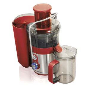 Easy Clean Big Mouth 2-Speed Premium Juice Extractor Stainless/Red