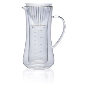 Pour Over Coffee Maker w/ 17oz Glass Carafe