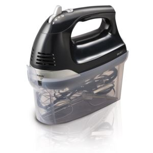 6-Speed Hand Mixer with Snap-On Case