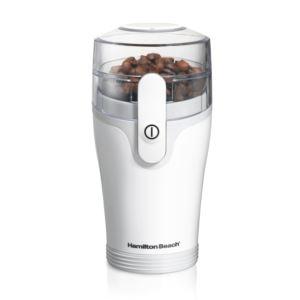 Fresh Grind Coffee Grinder White