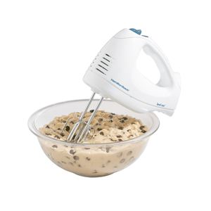 6 Speed Hand Mixer with Snap-On Case