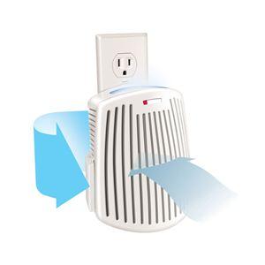 TrueAir Plug-Mount Odor Eliminator w/Nightlight