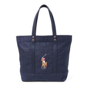 Polo Ralph Lauren - Big Pony Zip Tote - Navy