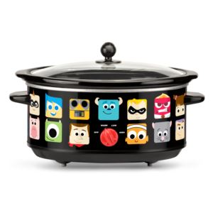 Disney Pixar 7 Qt Oval Slow Cooker w/ Removable Insert