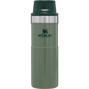 The Trigger-Action Travel Mug 16oz Hammertone Green