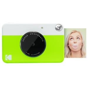 PRINTOMATIC 10MP Instant Print Digital Camera Lime Green