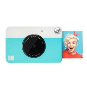 PRINTOMATIC 10MP Instant Print Digital Camera Blue