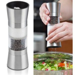 Dual-Sided Salt & Pepper Grinder