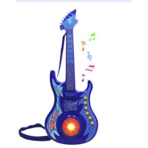 "23"" Battery Operated Guitar - Blue"