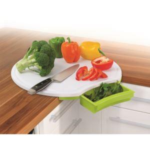 Corner Cutting Board - Green