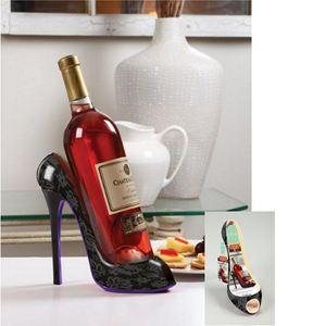 High Heels Wine Bottle Holder-Black