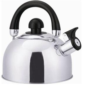 Stainless Steel Whistling Tea Kettle 2.5-QT.