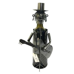 Wine Bottle Holder - Guitar Player