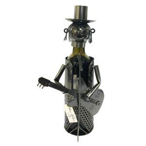 Wine Bottle Holder - Guitar Player