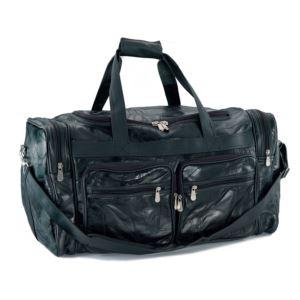 """24"""" Buffalo Leather Bag"""