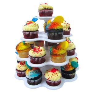 4 Tier Cupcake Stand - 24 Cupcakes