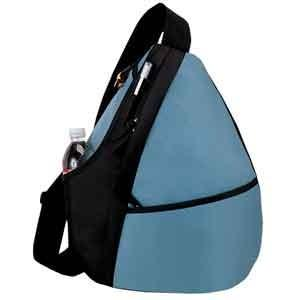 Mono Sling Backpack/Blue/Black