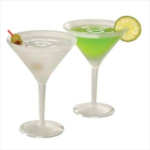 Iced Martini/Set of 2