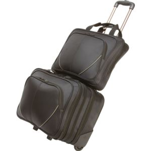 2-Piece Trolly Laptop & Carry On Bag