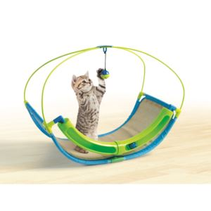 Cat Rocking Playtime Station