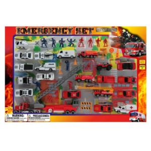 Diecast Emergency 46 Piece Set