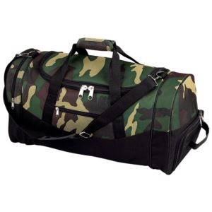 "Camo 23"" 600D Duffle Bag"