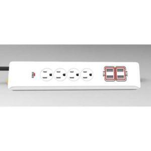 4x USB, 4x AC Power Strip