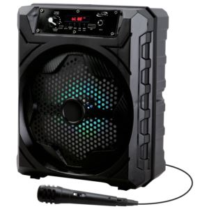 Wireless Bluetooth Tailgate Party Speaker with Microphone