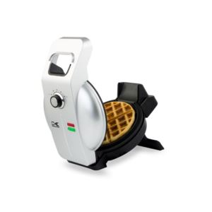Easy Pour Single Belgian Waffle Maker - (Black)