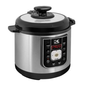 Perfect Sear Pressure Cooker - (Black and Stainless Steel)