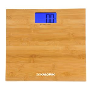 Electronic Bamboo Bathroom Scale