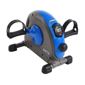 Mini Exercise Bike w/ Smooth Pedal System Blue