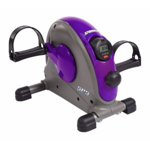 Mini Exercise Bike w/ Smooth Pedal System Purple