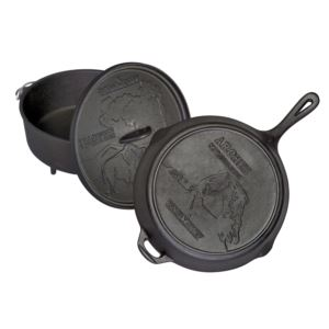 National Parks Cast Iron Set - Dutch Oven & Skillet