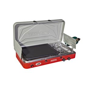 Rainier Two-Burner Stove w/ Griddle