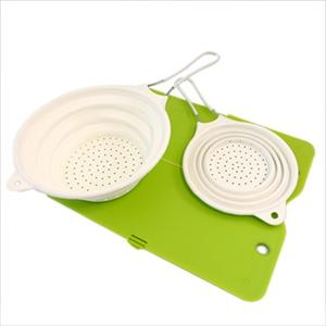 Colander and Cutting Board Set