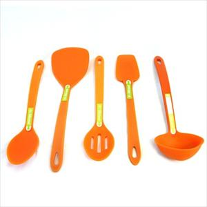 5-Pc Silicone Tool Set (Orange)