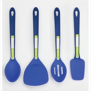 4-Pc Silicone Tool Set (Blue)