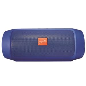 7 - Inch Portable Bluetooth Rechargeable Speaker - (Blue)