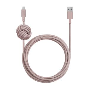 10ft NIGHT Cable Apple Lightning Rose