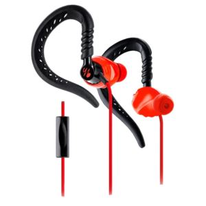 In Ear Sports Headphones Red Black