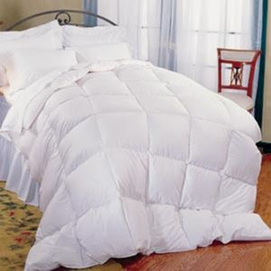Queen Bedding Comforter Package - (White)