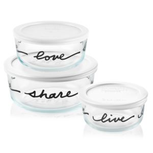 Simply Store 6pc Celebrations Storage Dish Set