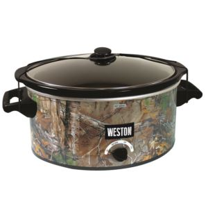 Realtree Outfitters 8 Qt Camo Slow Cooker