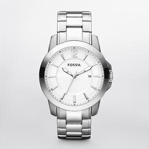 Men's Silver Dress Watch